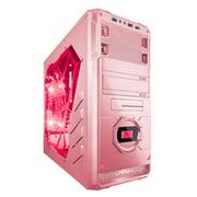 Apevia X-DREAMER4-PK X-dreamer4 No Power Supply Atx Mid Tower [black/pink]