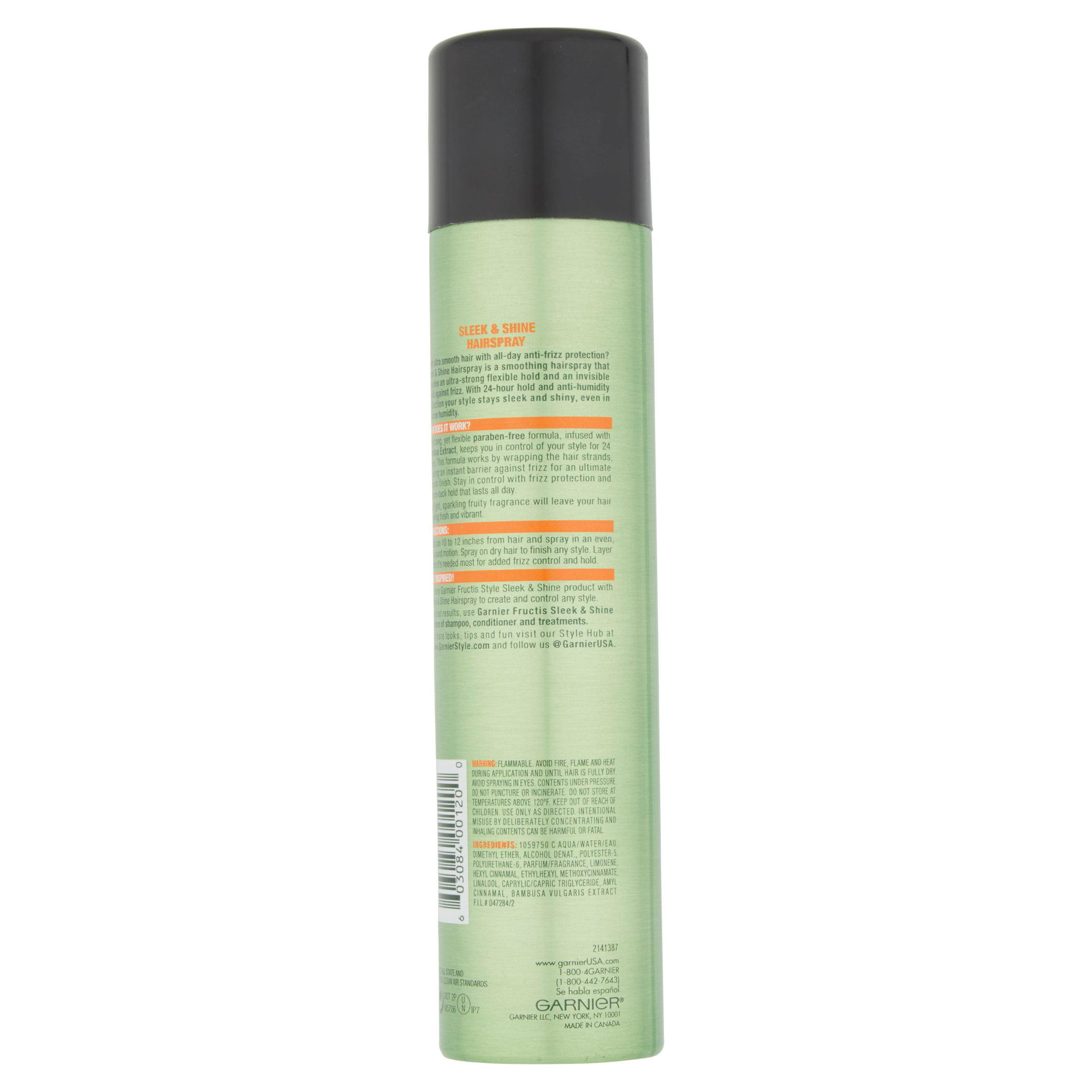 Garnier Fructis Style Sleek And Shine Anti Humidity Hairspray 825
