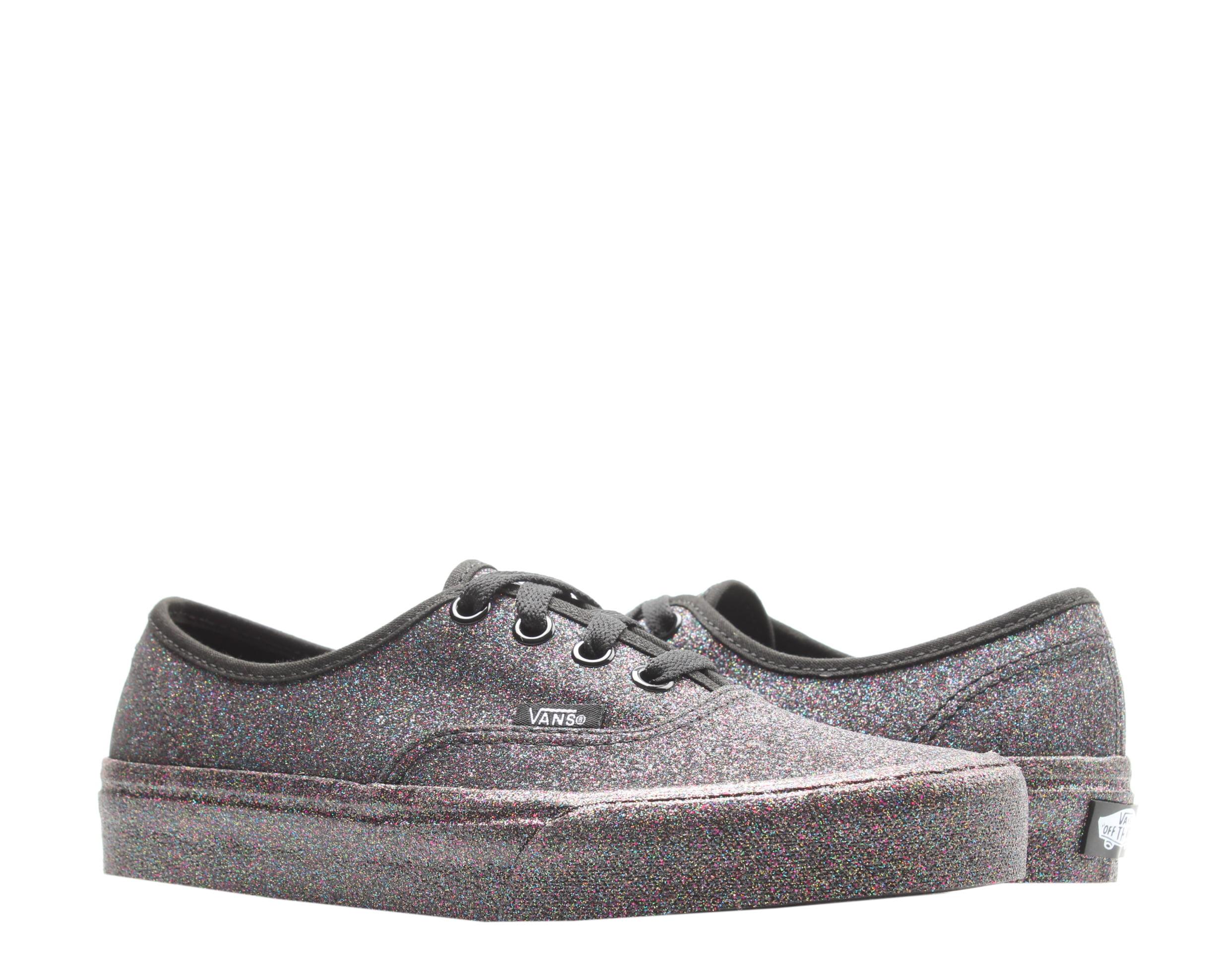 Vans Authentic Rainbow Glitter Low Top Sneakers Size 4.5 - Walmart.com
