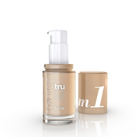 COVERGIRL truBLEND Liquid Foundation - M1 Natural Beige - 1 fl oz