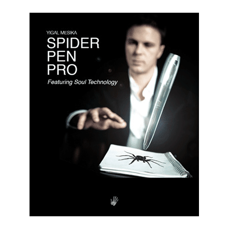 Spider Pen Pro (With DVD) by Yigal Mesika - DVD (Spider Pen Pro By Yigal Mesika)