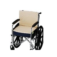 """Nova 3in. Convoluted Seat and Back Foam Cushion with Fleece Cover for 18""""x16"""" Wheelchair"""