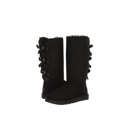 UGG Bailey Bow Tall II Women's Shoes Boots 1016434 Black