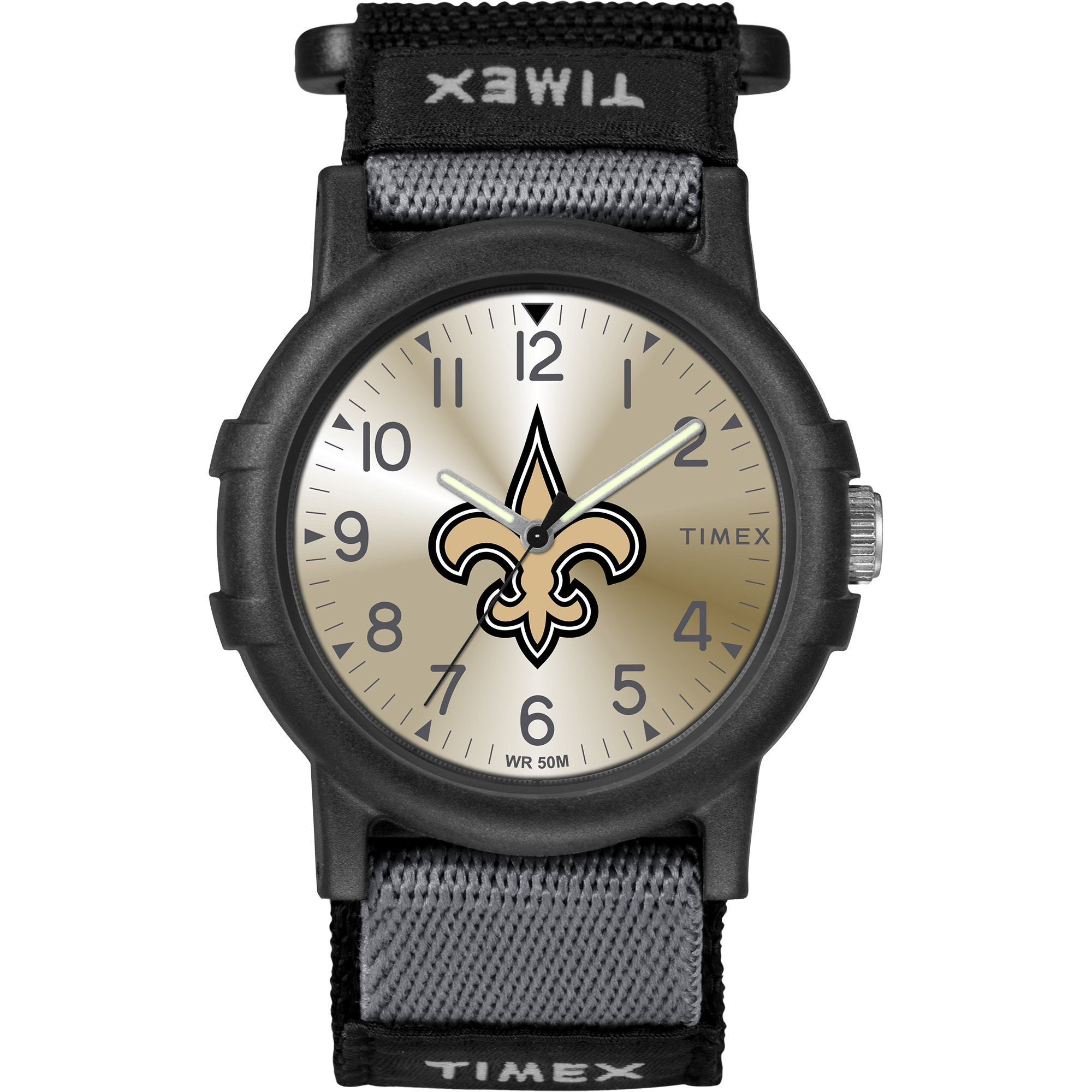 Timex - NFL Tribute Collection Recruite Youth Watch, New Orleans Saints