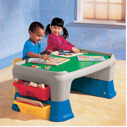 Little Tikes Easy Adjust Play Table Walmart Com Walmart Com