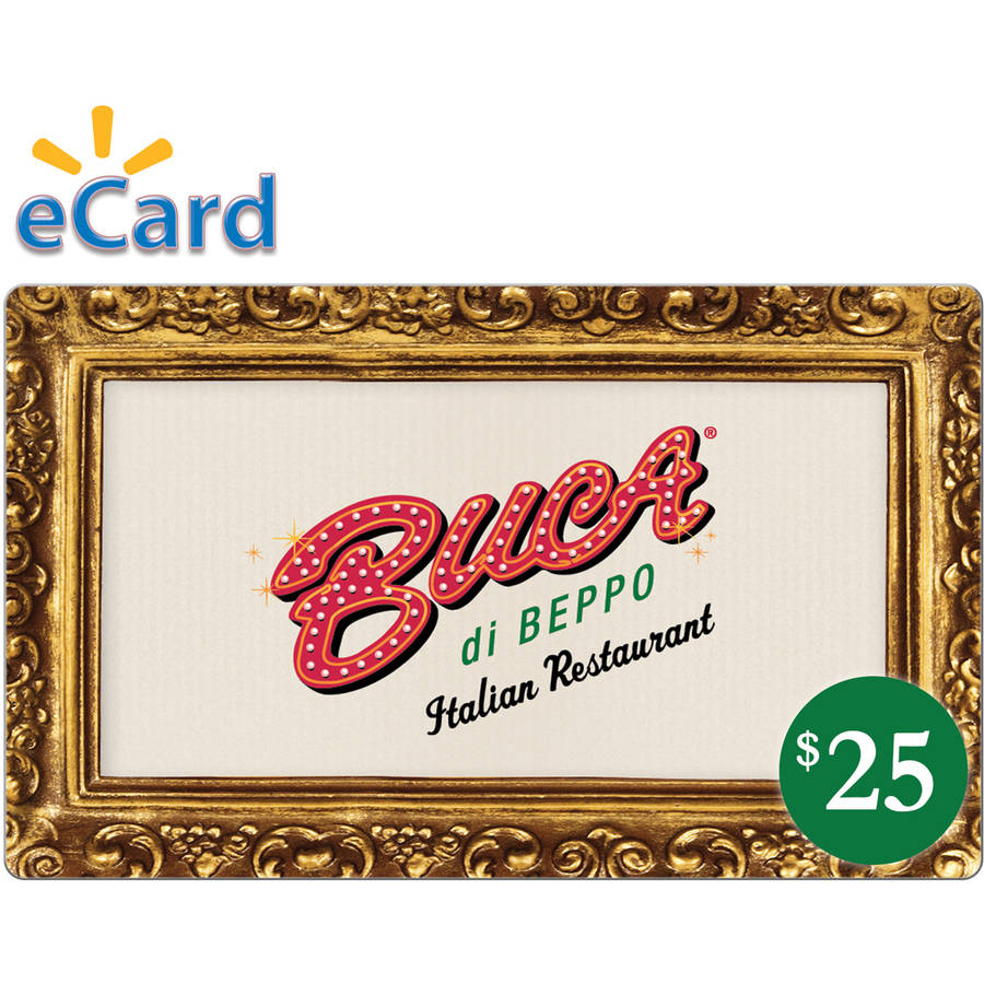Buca di Beppo $25 (Email Delivery)