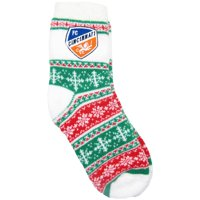 FC Cincinnati ZooZatz Women's Holiday Socks - OSFA