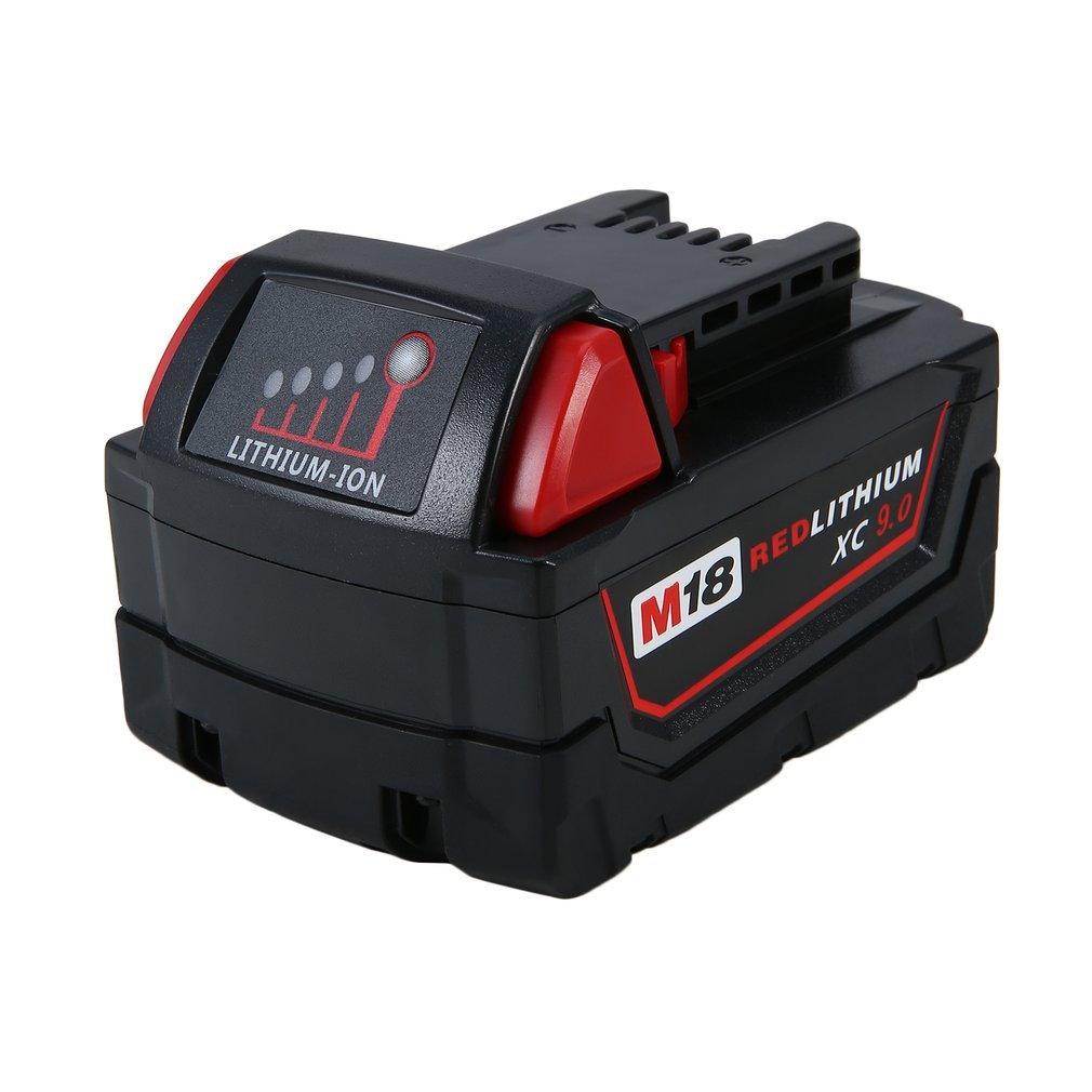 18V 9.0Ah 9000MAH Reable High Capacity Replacement Power Tool Battery For Milwaukee M18