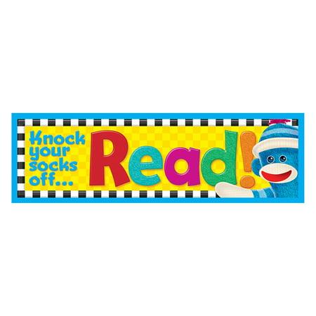 Sock Monkey Read Bookmarks