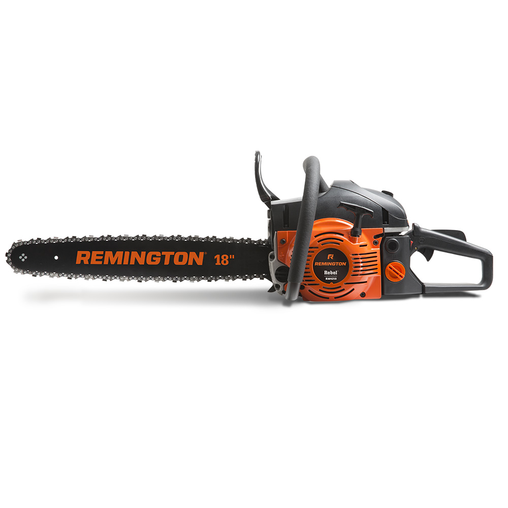 Click here to buy Remington RM4218 Rebel 42cc 2-Cycle 18-inch Gas Chainsaw by MTD SOUTHWEST INC.
