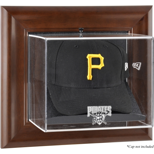 MLB - Pittsburgh Pirates Framed Wall Mounted Logo Cap Display Case