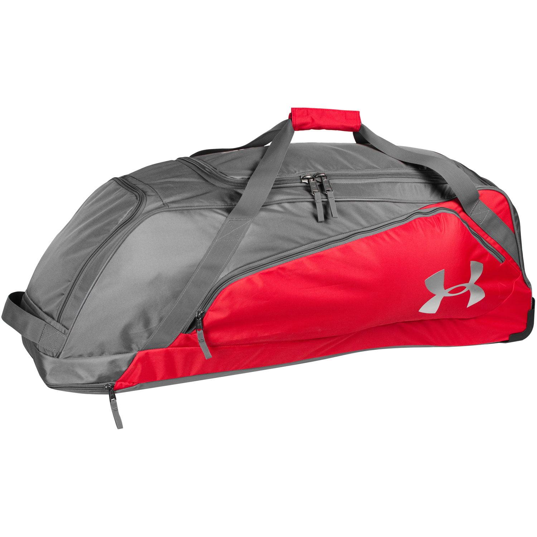 Under Armour Line Drive Baseball/Softball Wheeled Duffle Bag