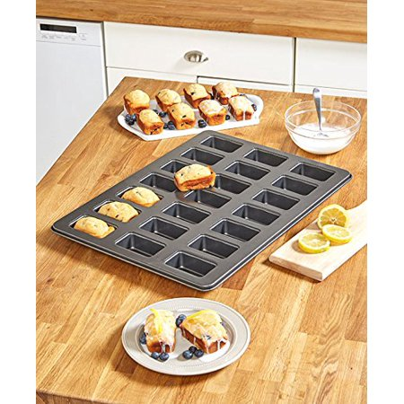 Large Leaf Pin - Oversized Monster Mini Loaf Pan, Extra large surface bakes more at a time By The Lakeside Collection From USA