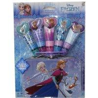 Disney Girls Multi Color Frozen Lip Gloss Tin Container Set
