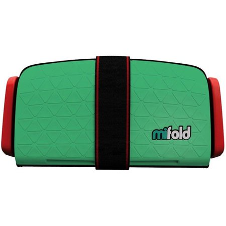 Mifold MF01-US/GRN Grab-and-Go Car Booster Seat (Lime Green)