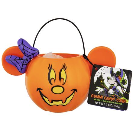 Disney Channel Happy Halloween (Disney Parks Happy Halloween Minnie Candy Corn with Pumpkin Bowl New with)