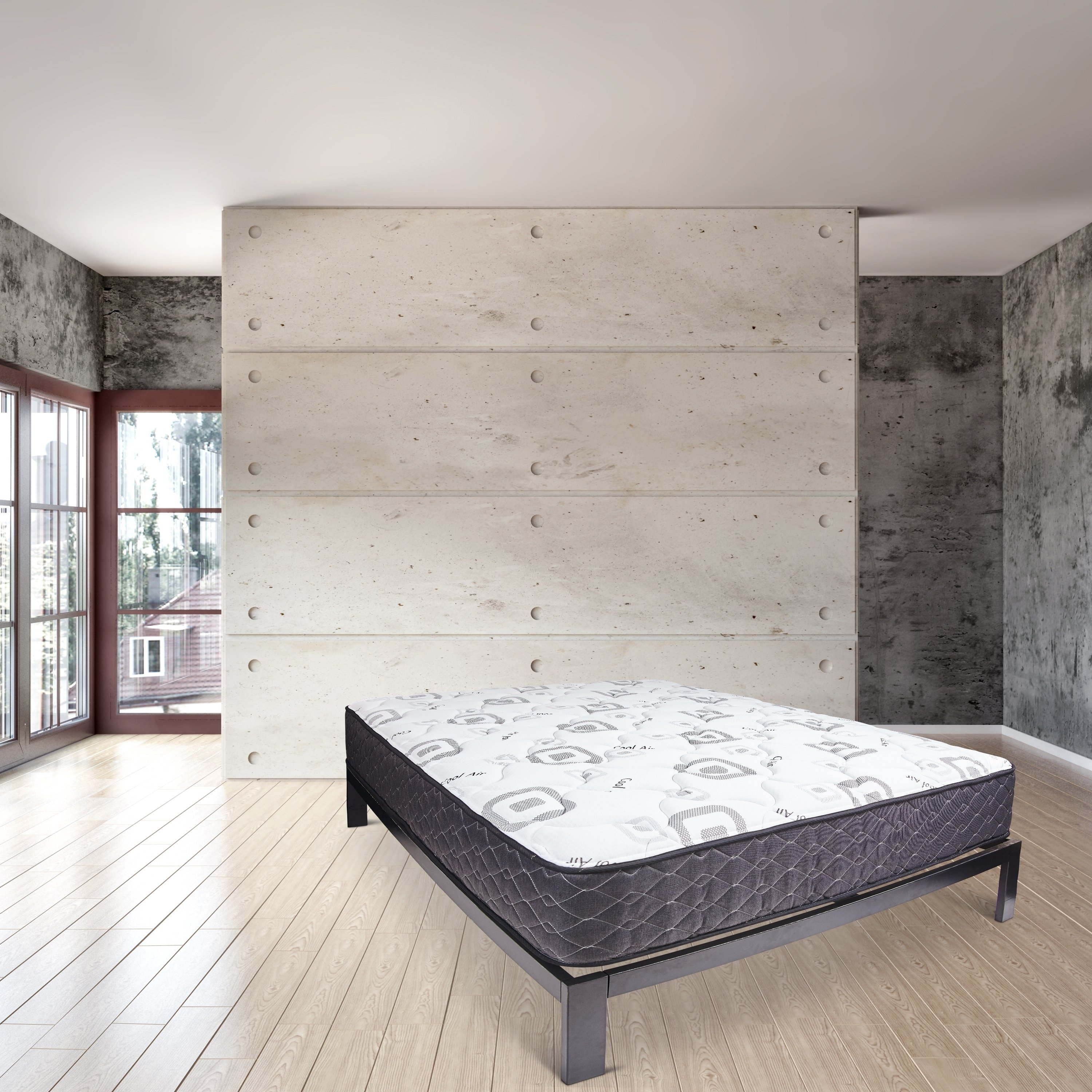 Wolf Corporation's Dual Rest Double Sided Queen Size Mattress