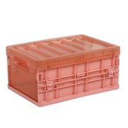 Excellent Plastic Folding Storage Container Basket Crate Box Stack Foldable Organizer Box
