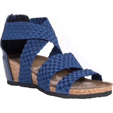 Women's MUK LUKS Elle Wedge Sandal