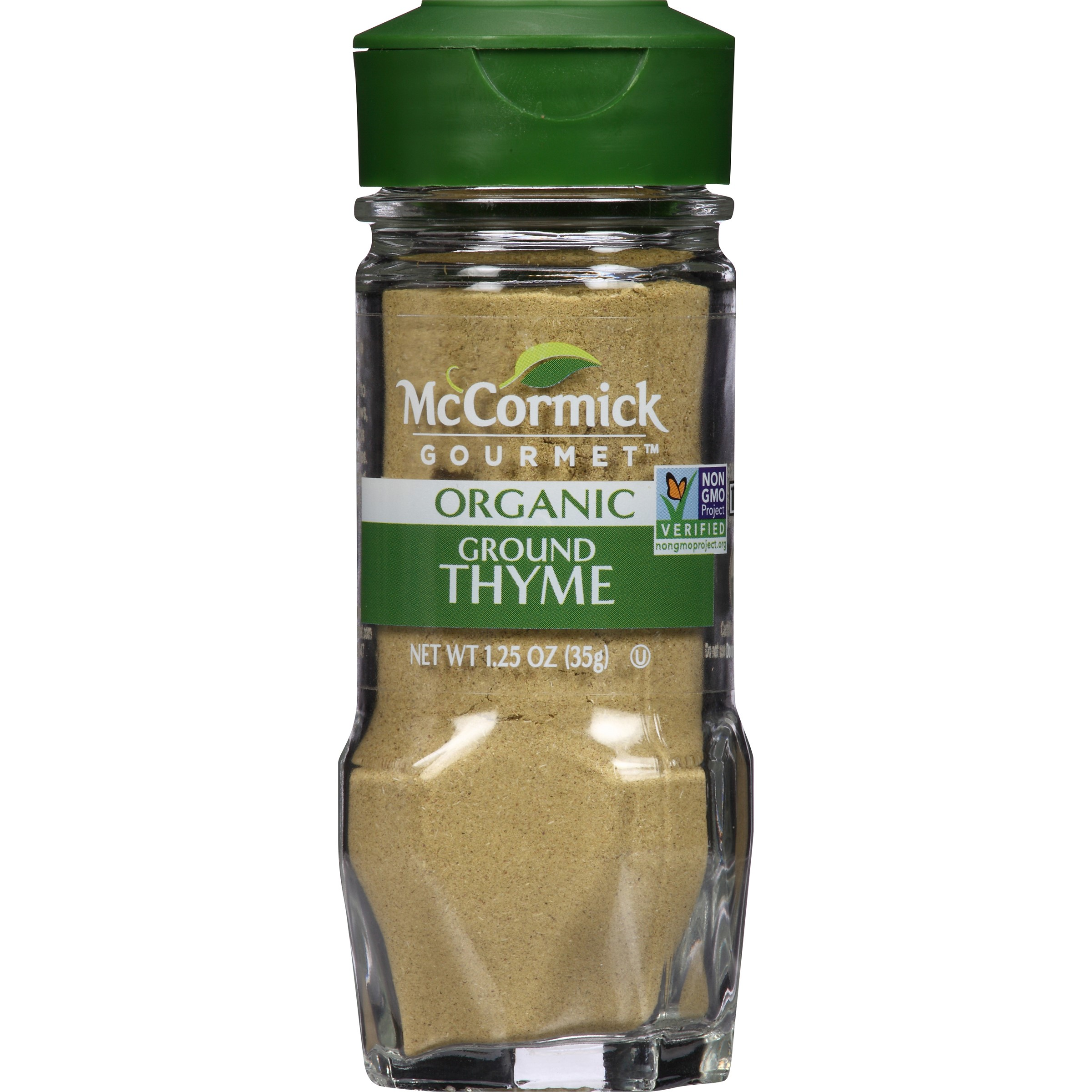 McCormick Gourmet Ground Thyme, 1.25 Oz