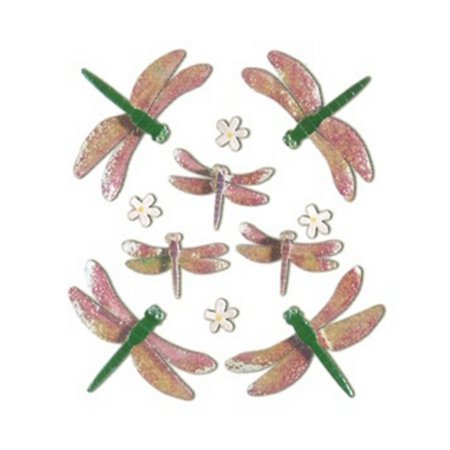 Jolees Boutique Themed Simple Stickers, Dragonflies - Dragonfly Boutique