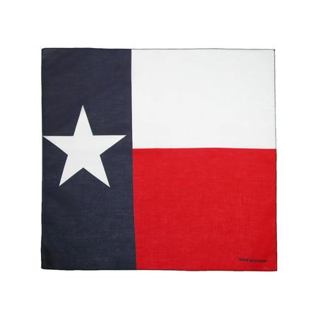 Size one size Texas Flag Bandana, Texas Flag