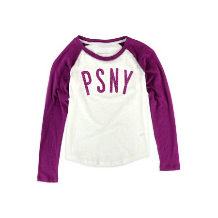 f7f22117 Aeropostale Girls Psny Raglan Graphic T-Shirt 556 M - Big Kids (8-20 ...