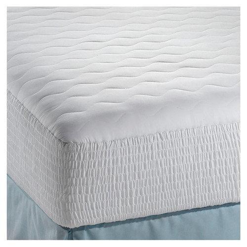 Simmons Beautyrest 200 Thread Count Cotton Down Alternative Dream Loft Mattress Pad