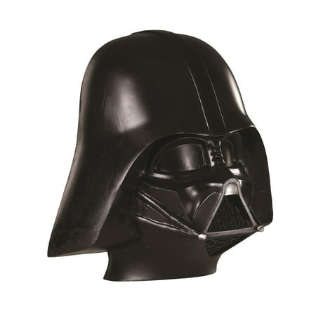 Child Darth Vadar Face Mask - Long Halloween Two Face Figure