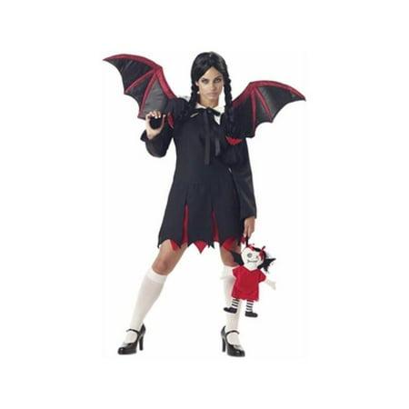Adult Gothic Bat Girl Costume - Girls Gothic