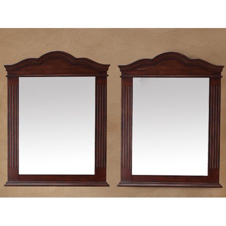 Darby Home Co Mccormick 32 Arch Crowned Top Mirror  Set Of 2