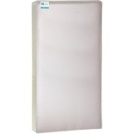 Sealy Cozy Cool Hybrid 2 Stage Coil And Gel Crib Toddler Mattress