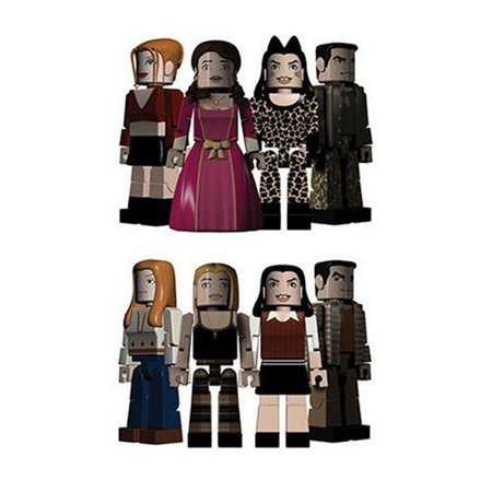 Buffy The Vampire Slayer PALz Halloween 4-Pack Mini Figure Set - Vampire Slayer Halloween