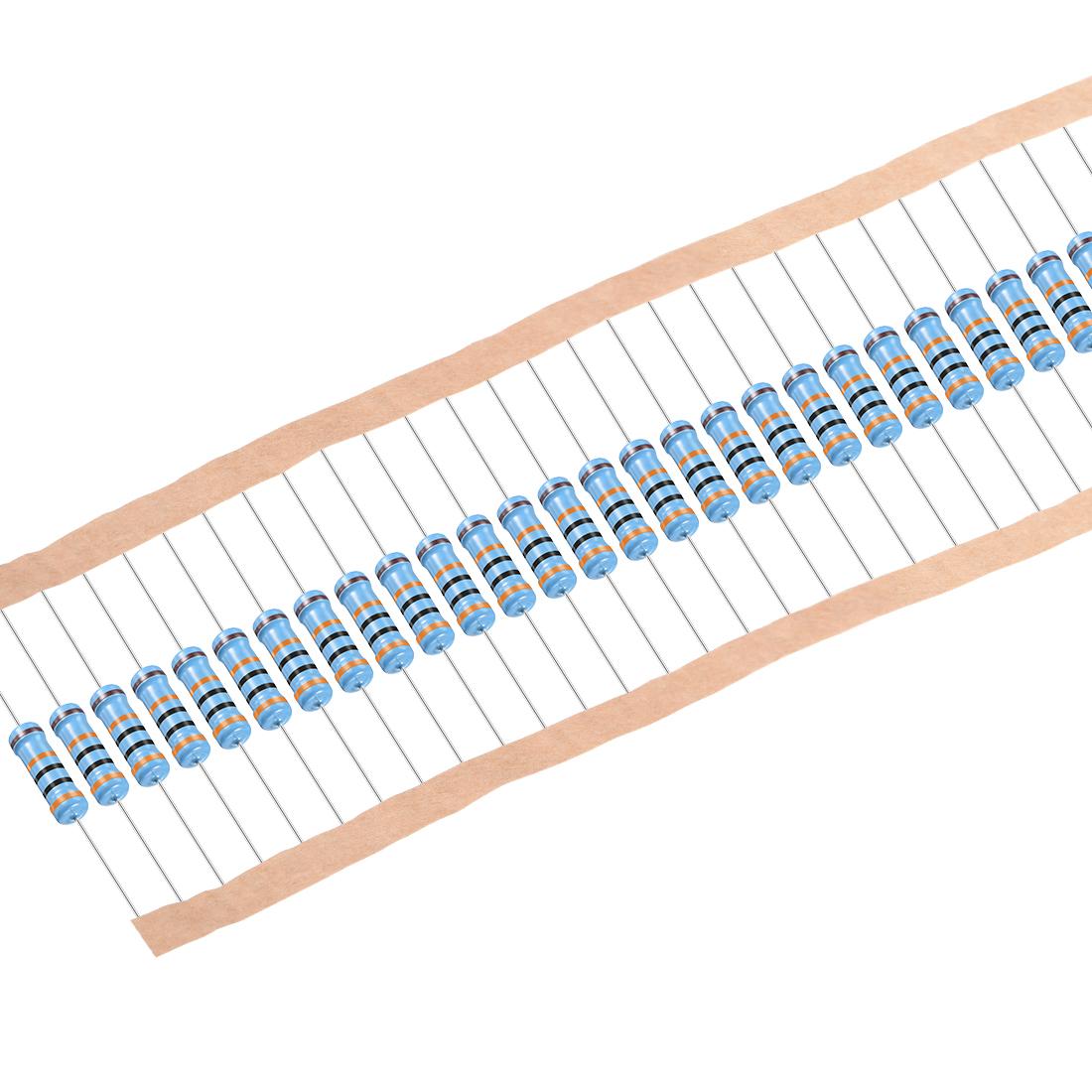 Metal Film Resistors 300k Ohm 1W 1% Tolerances 5 Color Bands Pack of 200 - image 4 of 4