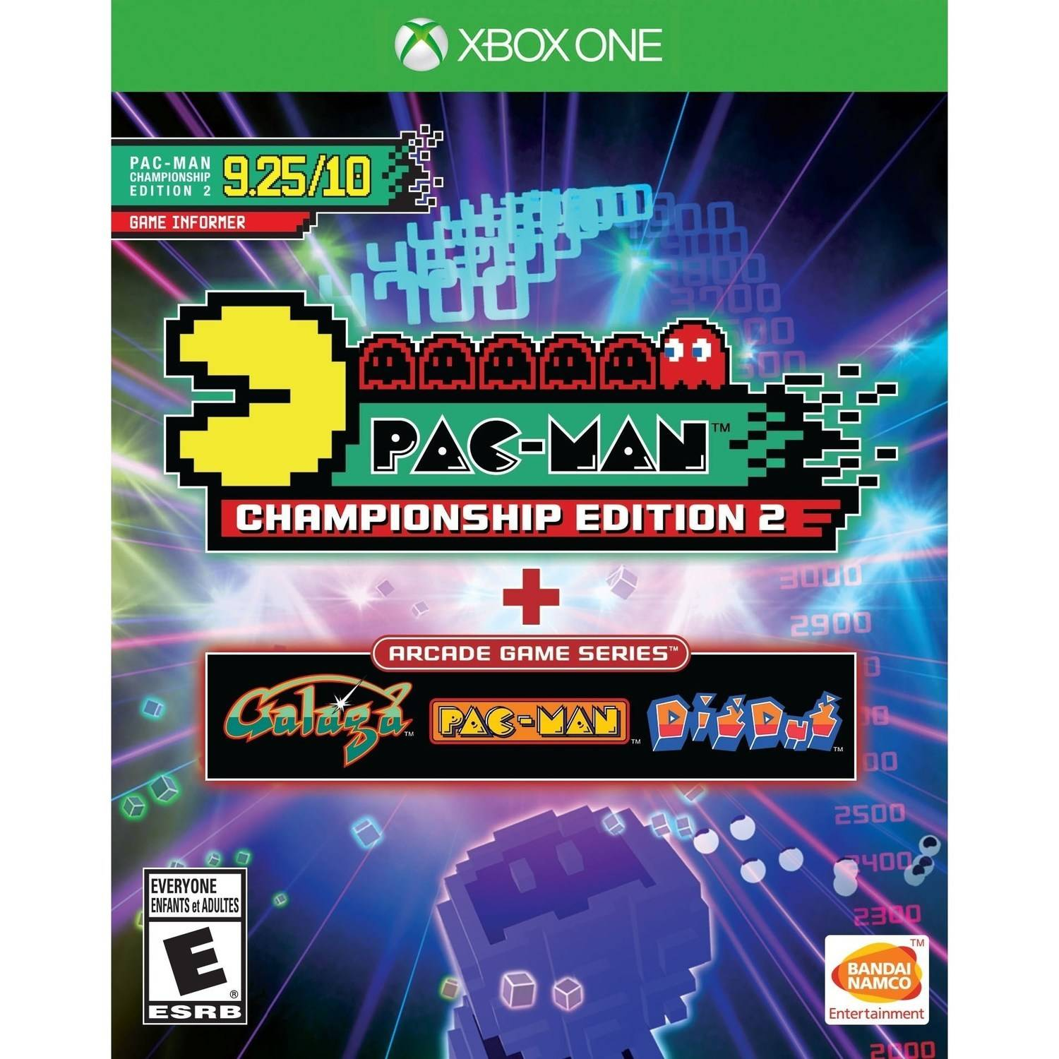 Pac-Man Championship Edition 2 + Arcade Game Series, Bandai/Namco, Xbox One, 722674220705