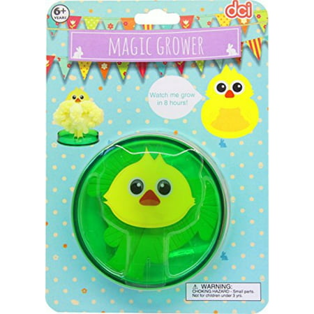 DCI Magic Grower Craft and Activity Kit, DIY Project for Kids, Easter Chick