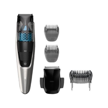 Philips Norelco Series 7000 Beard Trimmer Series 7200, Vacuum trimmer with 20 built-in length settings, (Philips Norelco Qt4070 41 Beard Trimmer 7300)