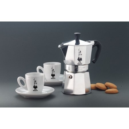 Bialetti Elegance Venus Induction 4 Cup Stainless Steel Espresso Maker 4 Cups