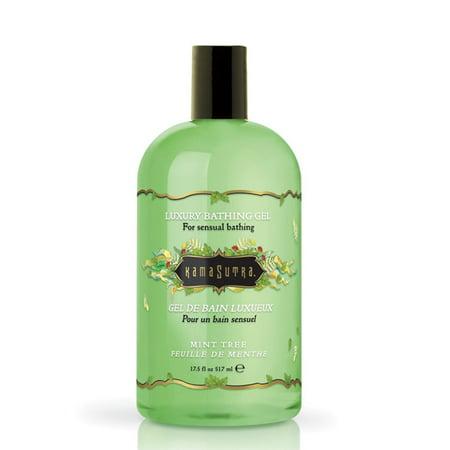 Kama Sutra Bath Gel - 17.5 oz Mint Tree - Kama Sutra Luxury Bath Gel