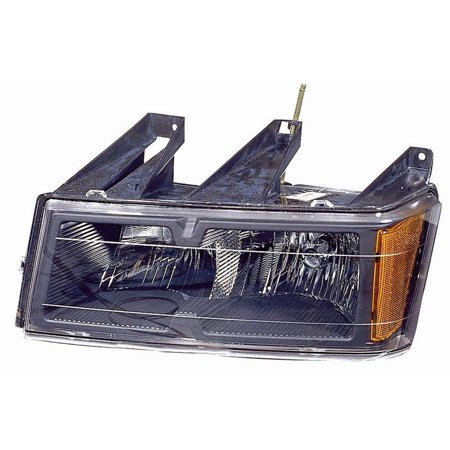 2004-2012 Chevrolet Colorado  Aftermarket Driver Side Front Head Lamp Assembly 20766569 2007 Chevrolet Colorado Replacement