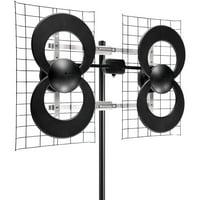Antennas Direct ClearStream 4 Ultra Long Range Antenna - HDTV antenna - loop - indoor / outdoor - UHF
