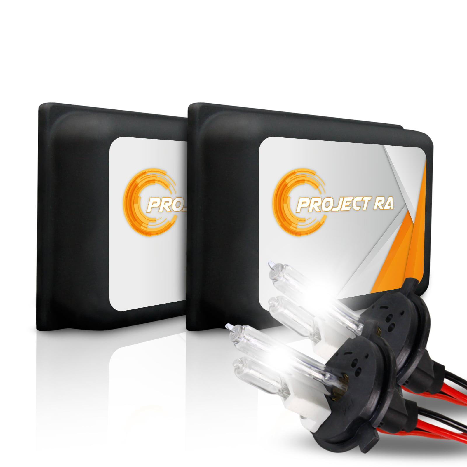 P.RA HID 55W MICRO Slim Xenon Kit - 9004 9005 9006 9007 H1 H3 H4 H7 H10 H11 H13
