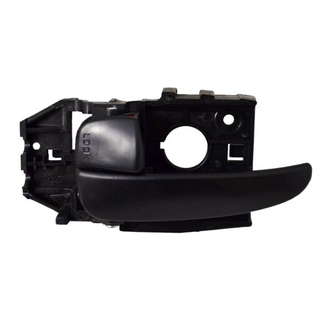 PT Auto Warehouse HY-2335A-FL - Inner Interior Inside Door Handle, Black - Driver Side Front