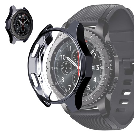 Watch Case For Samsung Gear S3 Frontier, EEEKit All-Around Protective Cover Bumper Shell TPU Shock-Proof Scratch-Resistant Frame for Samsung Gear S3 Frontier