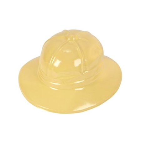 New Plastic Costume Jungle Safari Yellow Tan Party Hat