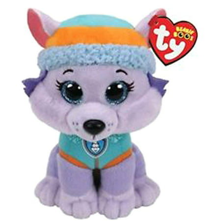 TY Beanie Boos - Paw Patrol - Everest - Husky The Dog (Glitter Eyes) Small 6