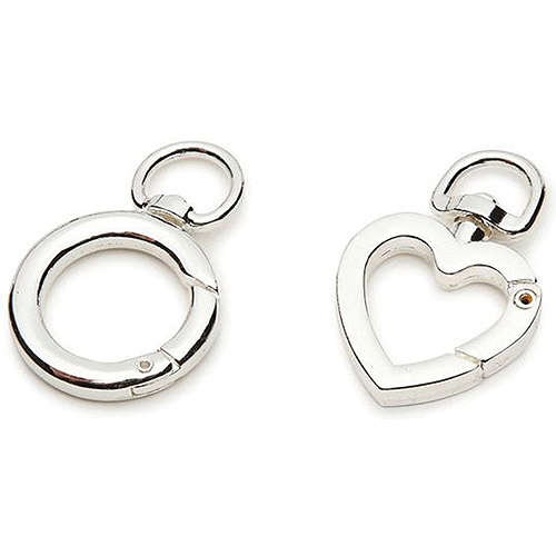 Darice Accessory Loops Clasps, Silver Sm