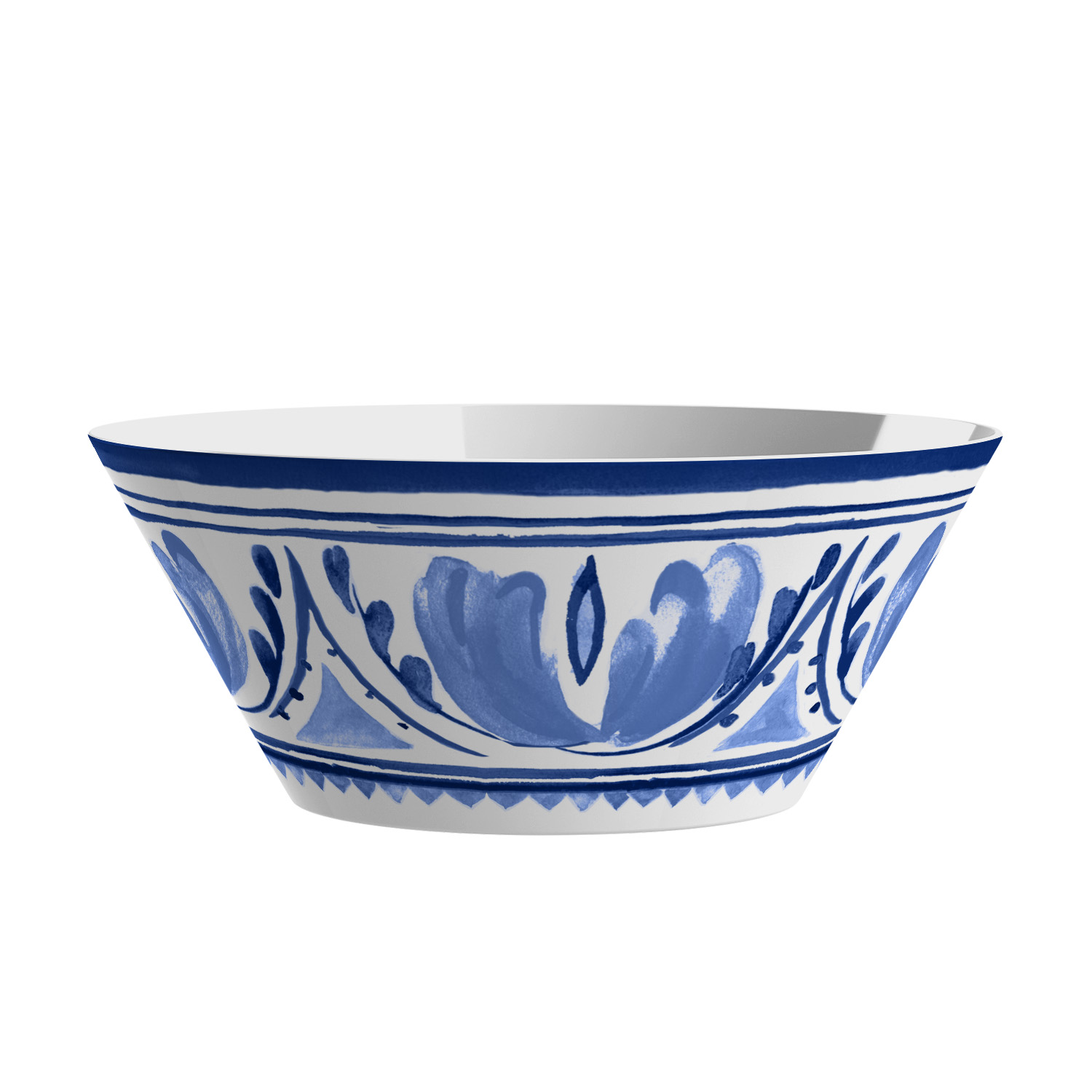 Mainstays Blue Medallion Salad Serving Set