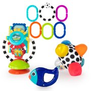 Sassy Discover The Senses Sensory Baby Toy Gift Set - 0+ Months