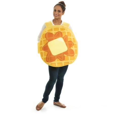 Halloween Costumes Breakfast Club (Hauntlook Adult Waffle Halloween Costume - Waffle Breakfast Food)